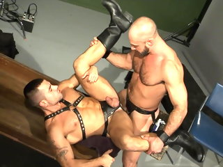 leathermen Hot muscle leathermen fuck muscle
