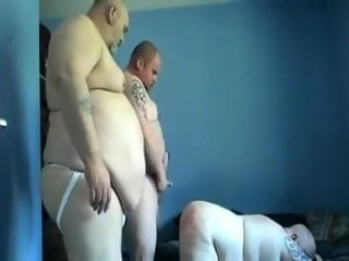 english Sexy English chub daddies trio sexy