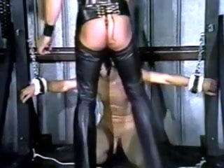master Go underground master and waiting upon leather