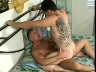 older Sexy Older Ray & Cute Tattooed Guy sexy