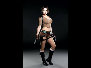 meier Irina Meier -Tomb Raider Lara Croft cosplay - cum graft HQ irina