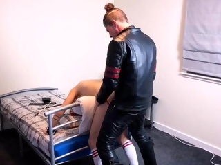 boys leather