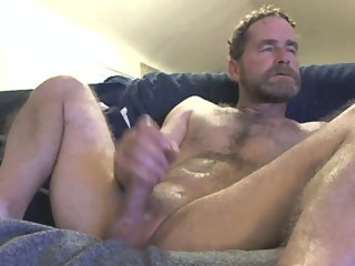 fingering dad fingering his dick nearby front of the camera dad